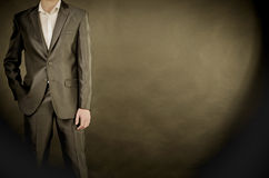Man in suit Stock Photo
