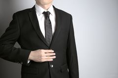 Man with suit Stock Photos
