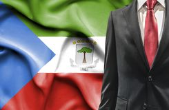 Man in suit from Equatorial Guinea royalty free stock image
