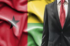 Man in suit from Guinea Bissau stock photo