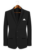 Man suit on hanger Royalty Free Stock Image