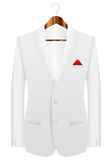 Man suit on hanger Royalty Free Stock Photos