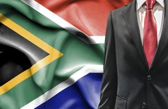 Man in suit from South Africa royalty free stock image