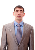 Man in a suit and tie Royalty Free Stock Photo