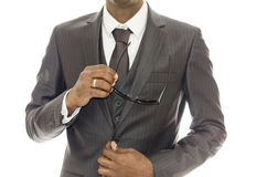 Man and suit Royalty Free Stock Image