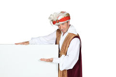 Man in Sultan Fancy Dress Royalty Free Stock Photos