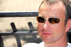 Man sunglasses Royalty Free Stock Image