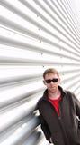 Man is sunglasses Royalty Free Stock Photo
