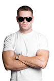 Man in sunglasses Stock Image