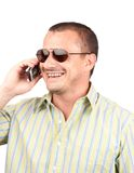 Man with sunglasses Stock Images