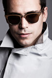 Man with sunglasses Royalty Free Stock Photography