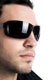 Man in sunglasses Royalty Free Stock Photos