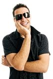 Man in sunglasses Royalty Free Stock Images