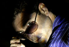Man in Sunglasses Stock Photo