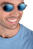 Man with sunglasses Royalty Free Stock Image