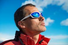Man with sunglasses Stock Photos