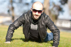 Man sunglasses Royalty Free Stock Photography