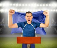 Screaming for the victory Royalty Free Stock Photography