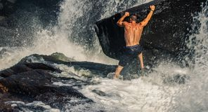 Man Surfing stock image