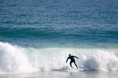 Man surfing - Australia stock photos