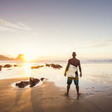Man surfing Royalty Free Stock Photos