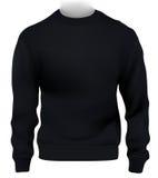 Man sweatshirt template royalty free illustration