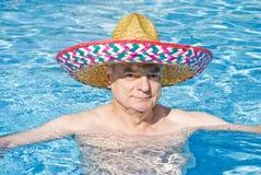Man in Swimming Pool Stock Photos