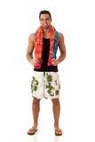 Man in Swimwear Stock Photo