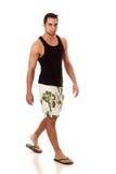 Man in Swimwear Royalty Free Stock Photo