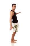 Man in Swimwear Royalty Free Stock Photography