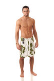 Man in Swimwear Royalty Free Stock Photo