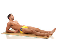 Man in Swimwear Stock Photos