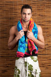 Man in Swimwear Stock Photography