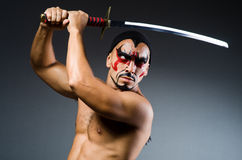 Man with sword Royalty Free Stock Images