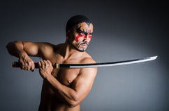 Man with sword Stock Photo