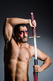 Man with sword Stock Photos