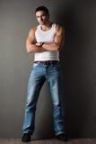 Man in a t-shirt Stock Photos