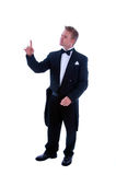 Man with tailcoat Stock Photo