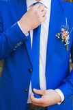 Man is taking off the wedding ring.  Royalty Free Stock Images