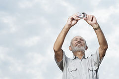 Man taking a picture Royalty Free Stock Photography