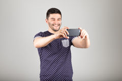 Man taking picture Royalty Free Stock Photography