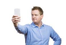 Man taking selfie of himself Royalty Free Stock Images