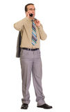 Man Talking On Cell Royalty Free Stock Images