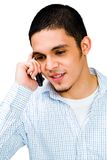 Man Talking On Mobile Phone Royalty Free Stock Photos