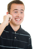 Man Talking On The Phone. Stock Photos