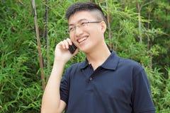 man talking on phone Royalty Free Stock Photos