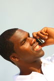 Man Talking on the Phone Stock Image