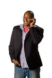 Man talking on phone Royalty Free Stock Photography