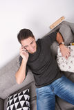 Man talking on phone. Stock Photography