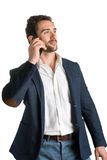 Man Talking on the Phone Stock Photography